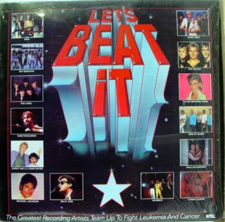 Various Michael Jackson Lets Beat It LP VG Tu 2200