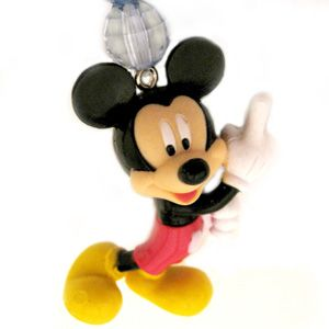 Disney Mickey Mouse Full Figure PVC Beaded Key Ring