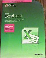 Microsoft Excel Office 2010 Full Version SEALED AE Edition Retail Box