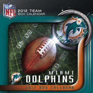 Miami Dolphins 2012 Desk Calendar