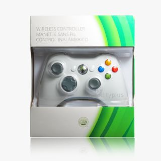 White Wireless Remote Controller for Microsoft Xbox 360 Xbox360