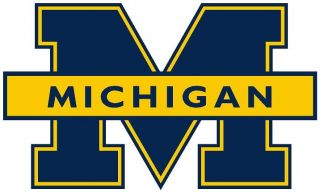 Michigan Wolverines Logo Digital Printed Graphic Vinyl Decal