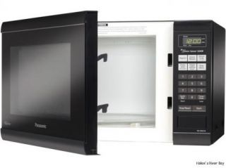 Family Size 1.2 cu. ft. Microwave Oven with Inverter Technology, Black