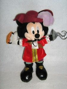 Disneyland Mickey Mouse Pirate Plush Halloween 2006
