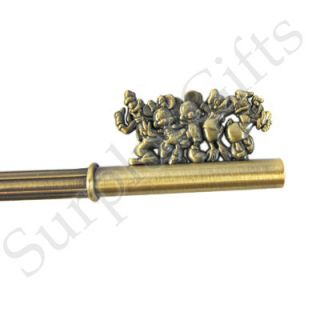 Mickey Mouse Master Bronze Key with Gem Beads Key Ring   KRDMY2221