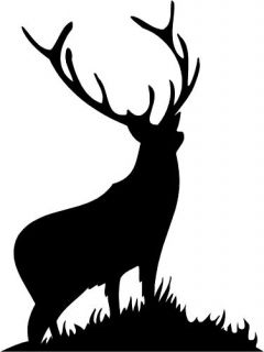 Stag Deer Car camper Van Window Sticker Decals 4