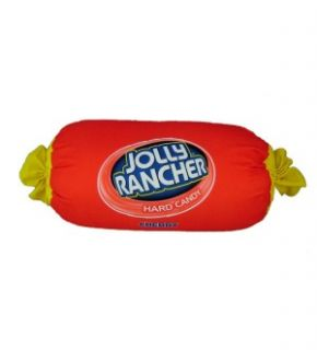 Jolly Rancher Cherry 18 Squishy Microbead Pillow New