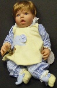 CUDDLY CRITTERS GIRL LEE MIDDLETON DOLL COMPANY REVA SCHICK 352 OF 600