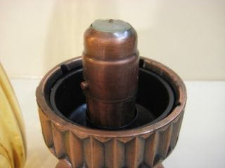Old Vintage Mason Candlelight Co Middlesex NJ Candle Holder