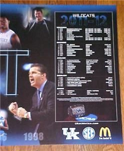 Michael Kidd Gilchrist 2012 UK Kentucky Wildcats Basketball Poster