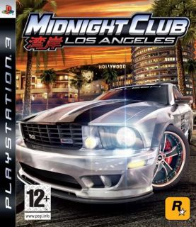 Midnight Club Los Angeles PS3 in Excellent Condition 710425372599