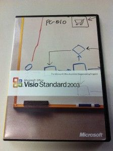 Microsoft Office Visio Standard 2003 Business Diagramming Program