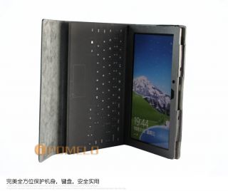Leather Case Cover For 10.6 Microsoft Surface RT Tablet PC Keyboard