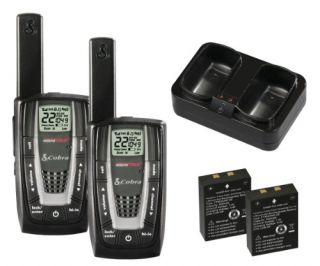 New Cobra MicroTalk 27 Mile 22 Channel Hunting Walkie Talkie Two Way
