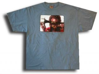 Miles Davis New XL Extra Large Blue 2001 Jazz Music Band T Shirt Tee