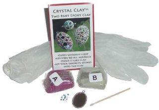 Crystal Clay Jewelry Making Kit Resin Crafts