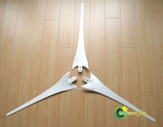 3x53 Wind Turbine Generator Blades Fit Air x Series 12 V 48 V 100 w