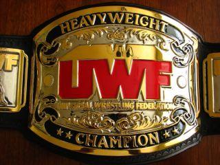 Real Dave Millican Made UWF Heavyweight Championship Belt NWA WWE