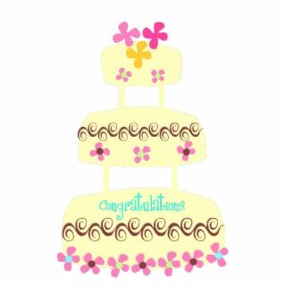 Wedding Cake Photo Sculpture