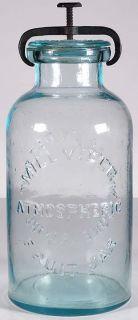 Millville Atmospheric Fruit Jar 56 oz Size