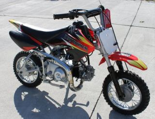 New Baja Dirt Runner DR50 50cc Gas Mini Bike Motorcycle