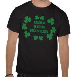Irish Beer Hunter Funny Irish Party Shirt