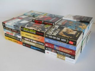 Lot of 54 Military Non Fiction War Paperback Books World War II Navy