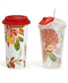 Vida by Espana Travel Mugs, Jardine Hot & Cold Set   Glassware