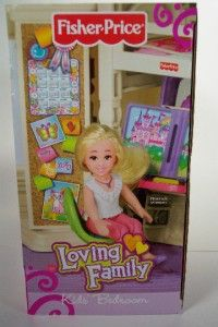 Kids Bedroom Set Girls Bunk Beds Dollhouse Furniture Desk