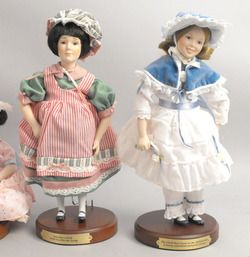 Danbury Mint Children of The Week Doll Collection