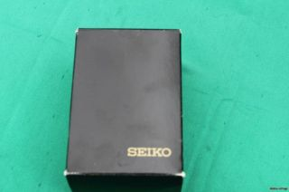 New Seiko Miller Lite Gold Toned Watch with Box