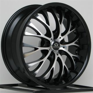 20 inch Black Wheels Rims Dodge Charger Challenger Chrysler 300C