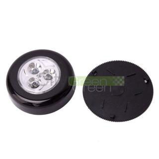 New Mini Cordless 3 LED Light Stick Tap Touch Light Battery
