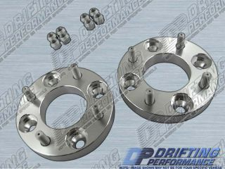 25mm) WHEEL ADAPTERS SPACERS 4x100 to 4x114.3 NISSAN 200SX SUBARU