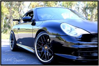 Porsche 2013 Boxster Wheels Rims 19 Genuine Fit Use with Tires TPMS