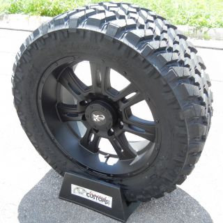 20 Black Procomp Wheels Rim 33 Nitto Trail Grappler Tire 2011 Up