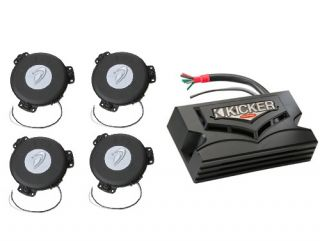 Car Audio 4 Bass Shakers Subwoofer Amp Auto Sound