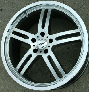 TSW Indy 500 20 Silver Rims Wheels Dodge Magnum AWD V6 V8 20 x 8 5 5H