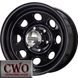 16 Black Unique 297 Wheels Rims 5x114 3 5 Lug Jeep Wrangler Explorer