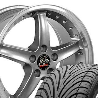 18 Rim Fits Mustang® Cobra 05 Wheels and Nexen 3000 ZR Tires