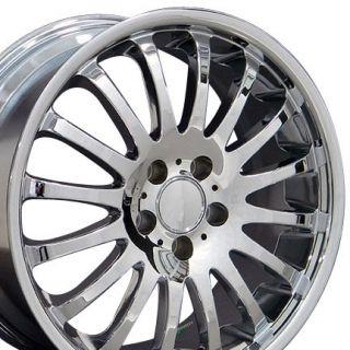 18 Rims Fit Mercedes Chrome Wheels 18x8 18x9 Set