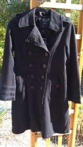 Millard Fillmore Military Trench Coat Womens XL