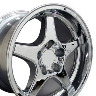 11 Chrome Corvette ZR1 Style Style Wheels Rims Fit Camaro