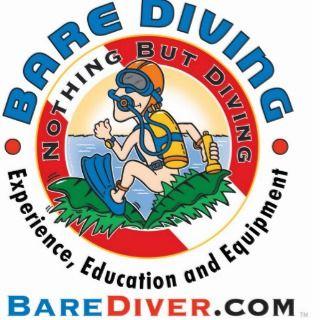 Scuba Crazy Diver Bare Diver www.barediver Photo Cut Outs
