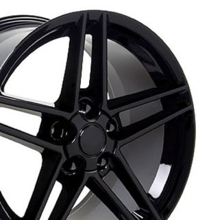 17 Rim Fits Corvette C6 Z06 Wheel Black 17 x 9 5