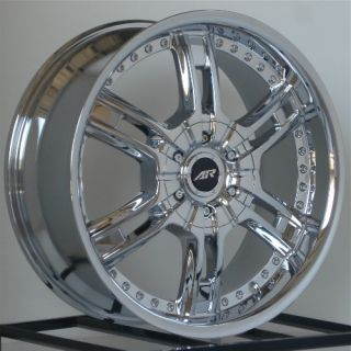 22 inch Chrome Wheels Rims Chevy Truck Tahoe Escalade 6