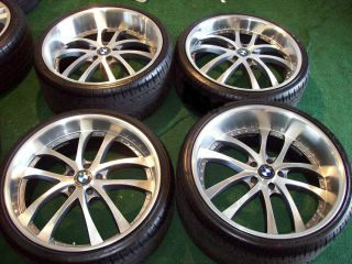 22 EXE Konvex Wheels Silver for BMW 745 750 760 B7 645 650 20 21 Rims