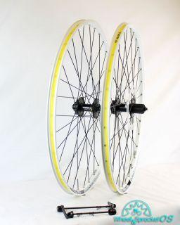 WTB Laser Disc Trail 650B White Mountain Bike Wheelset 27 5 9mm QR 9