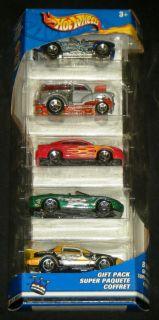 Hot Wheels B Day Super Paquete Coffret Gift Pack Mattel 2002 Die Cast