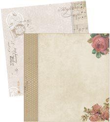 Melissa Frances CEst La Vie Printed 6 x 6 Mini Album GN550
